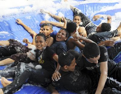 """""""Una de mis grandes prioridades es trabajar con los jóvenes y para los jóvenes"""", dice Ban Ki-moon."""