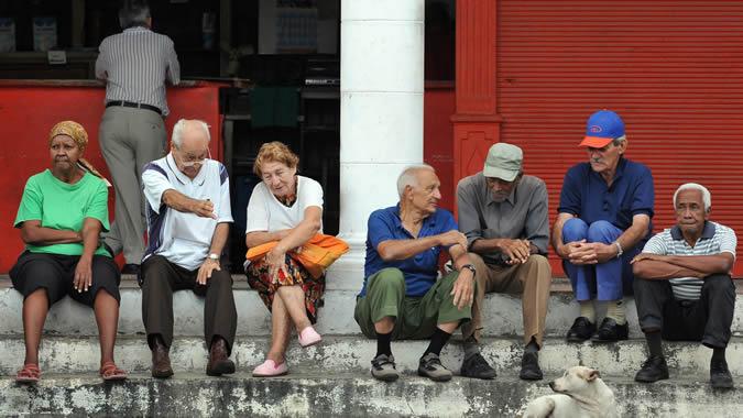 foto de personas mayores