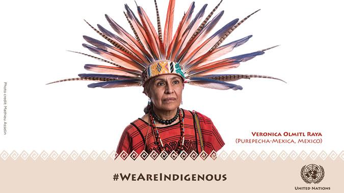 Foto de indígena mexicana
