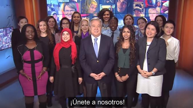 António Guterres, Secretario General de las Naciones Unidas.
