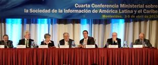 Inauguración de la IV Conferencia ministerial sobre la sociedad de la información en América Latina y el Caribe (2013)