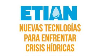 """banner XIV ETIAN """"Tecnologías para Enfrentar Crisis Hídricas"""""""