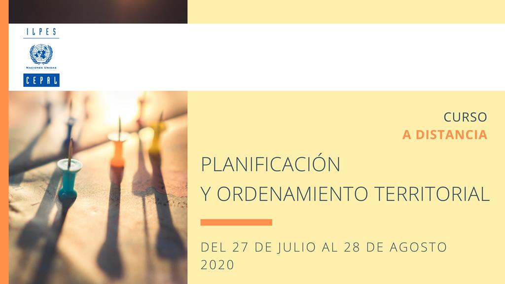 Banner del curso Planificación y Ordenamiento Territorial