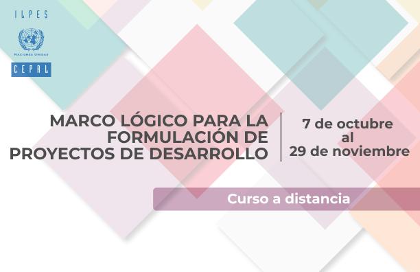 Curso a distancia Marco lógico para la formulación de proyectos de desarrollo
