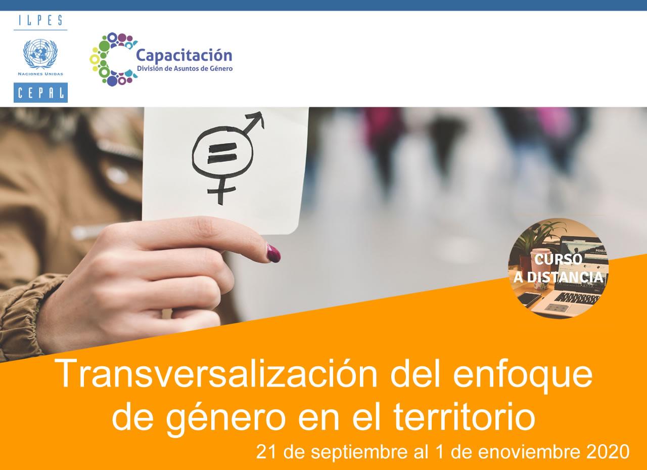 Imagen del curso Transversalización del enfoque de género en el territorio
