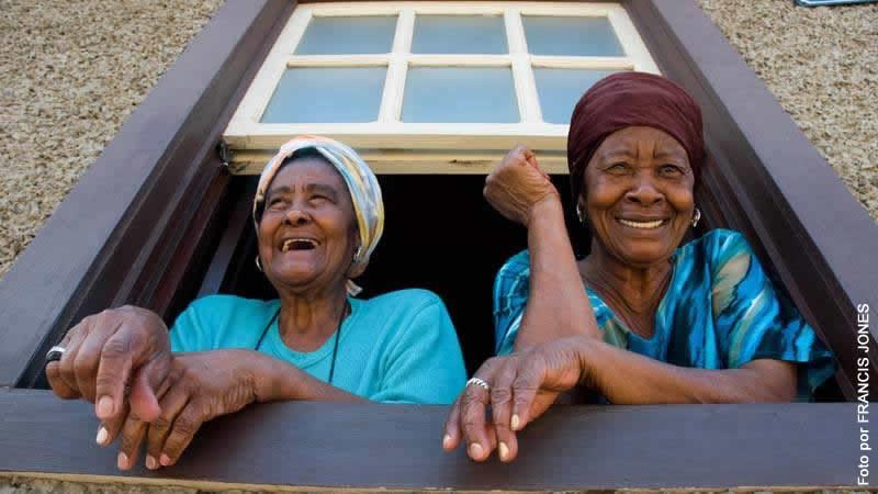 Eldery women caribbean