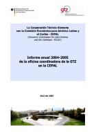 Portada Informe Anual 2004