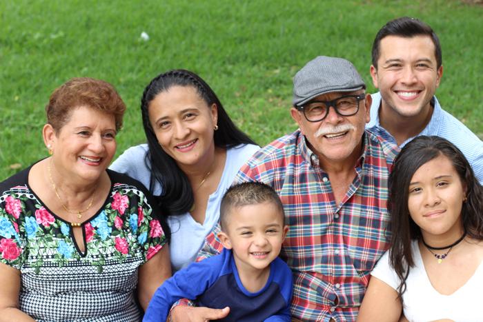 Familia de 6 personas