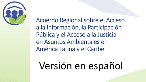 Text Of The Regional Agreement Static Page Economic Commission