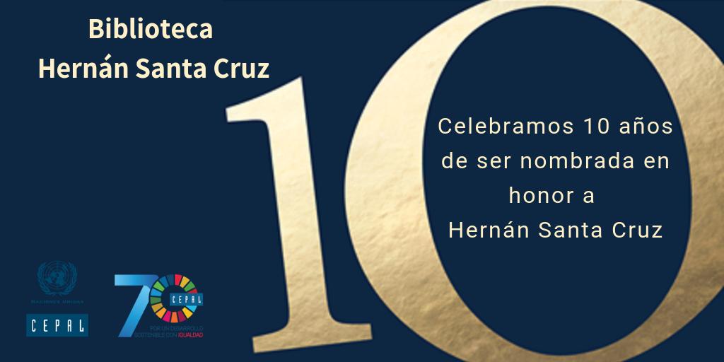 Biblioteca de la CEPAL en Santiago celebra 10 años desde que fue nombrada en honor a chileno Hernán Santa Cruz
