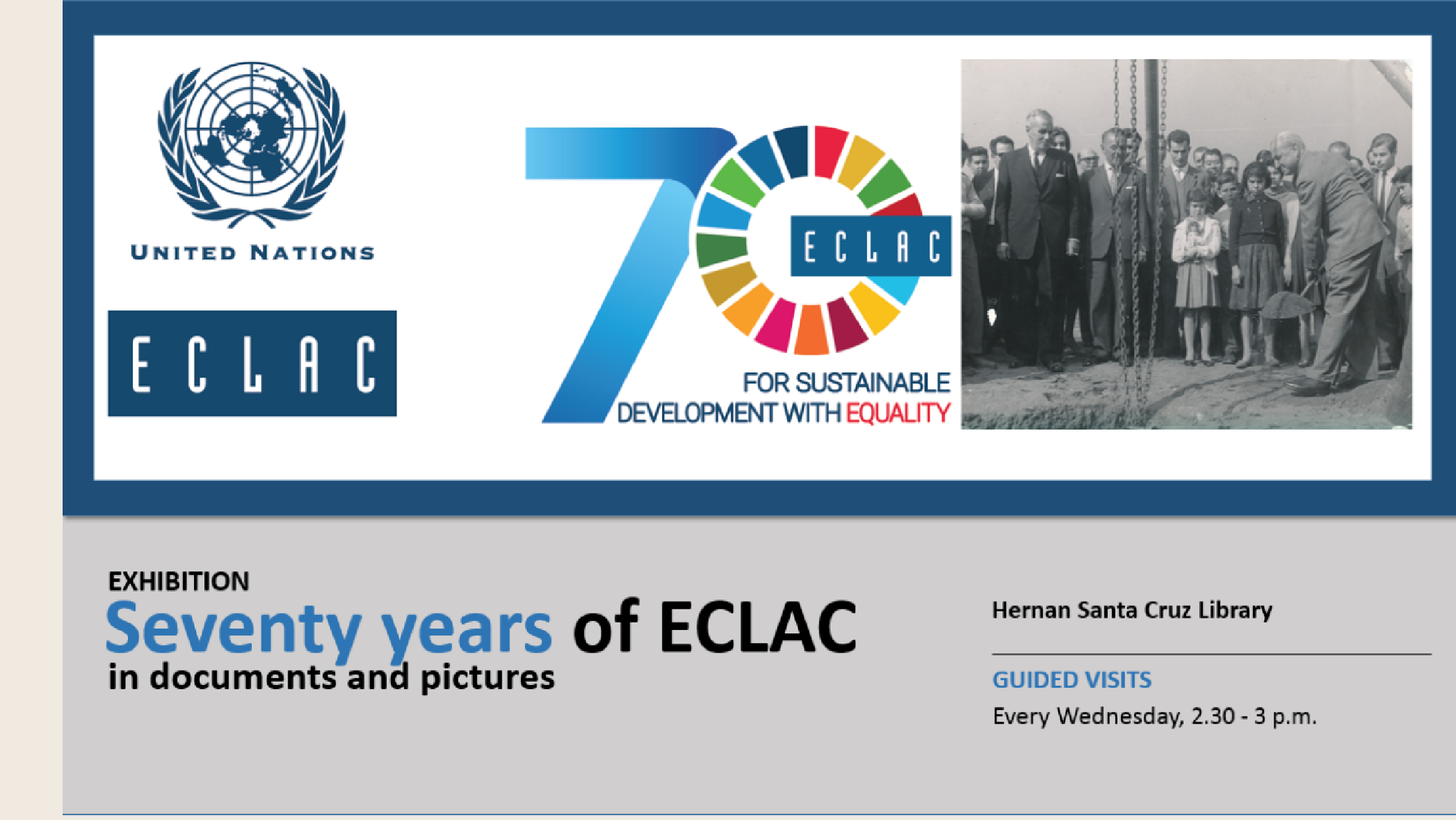 Exhibition 70 years ECLAC
