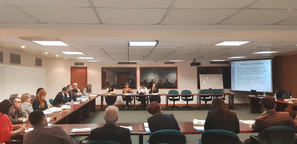 Profesionales de SELA y CLAD participaron en curso de la CEPAL en Caracas