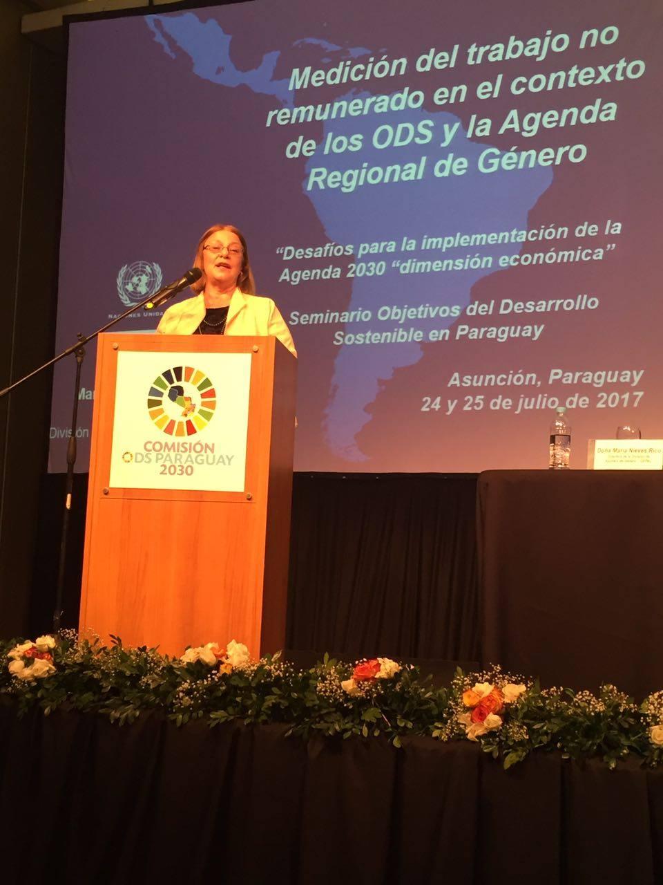 La dimensión económica de la Agenda 2030 para el Desarrollo Sostenible es clave para alcanzar la igualdad de género en América Latina y el Caribe.