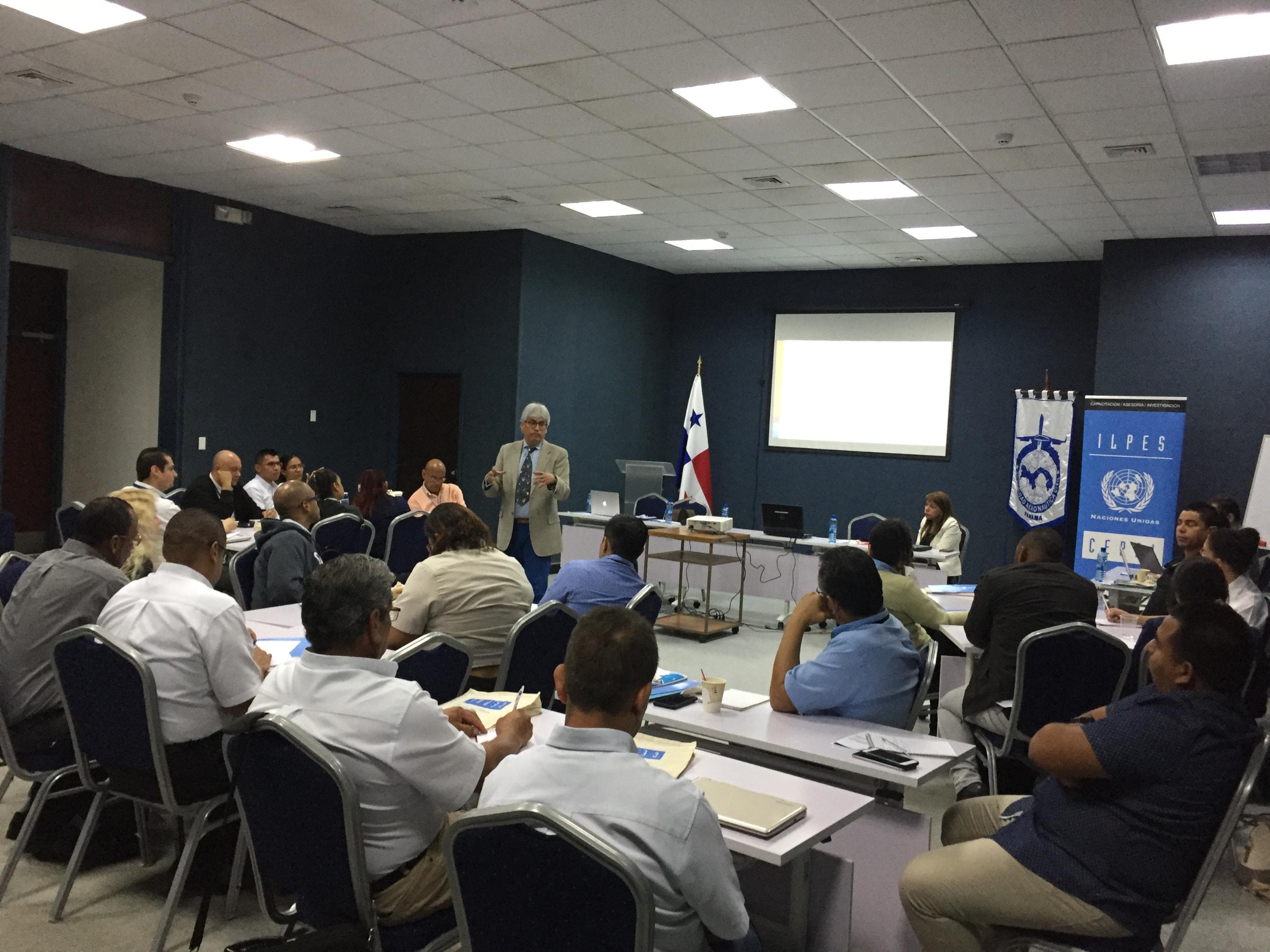 CEPAL capacita a funcionarios de la Autoridad Aeronáutica Civil de Panamá