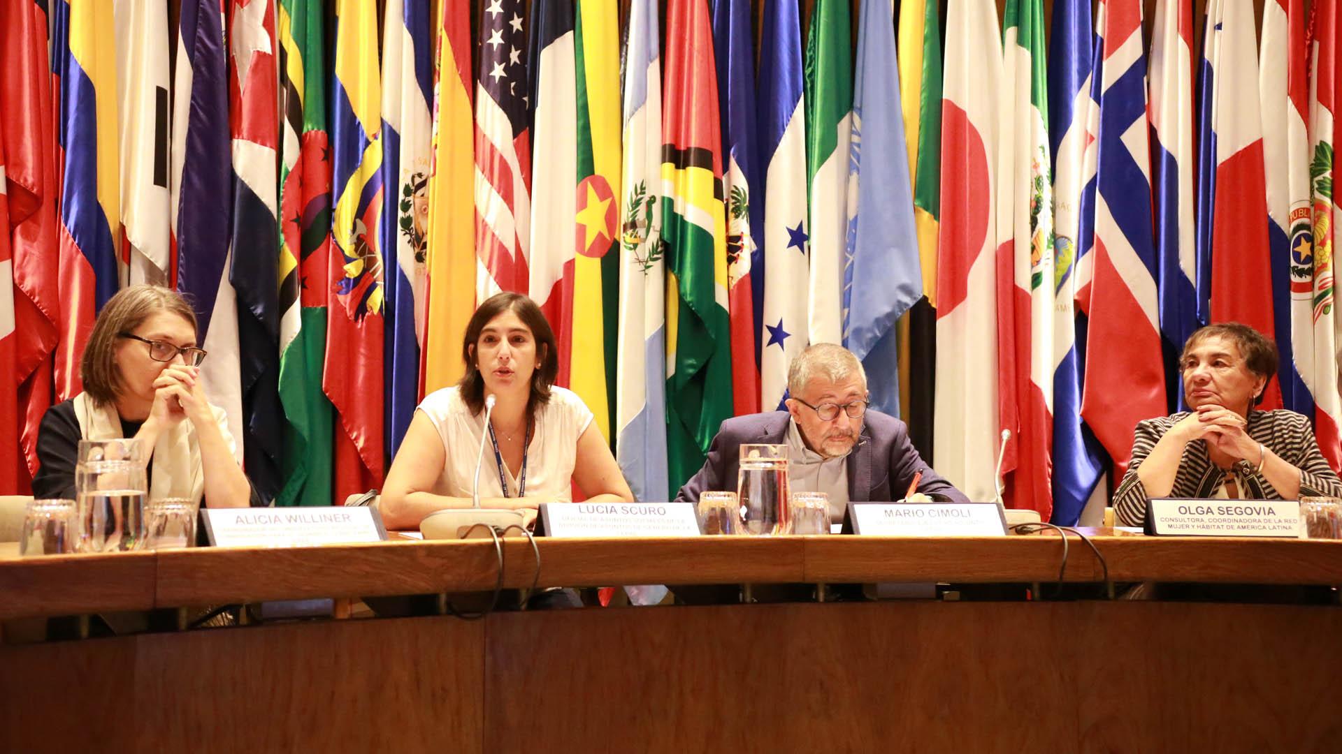Inauguración del curso Planificación del desarrollo con perspectiva de género