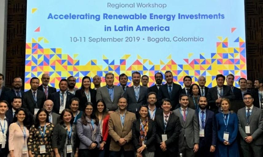 Taller Regional sobre Aceleración de las Inversiones en Energía Renovable en América Latina, 10-11 de septiembre de 2019, Bogotá, Colombia