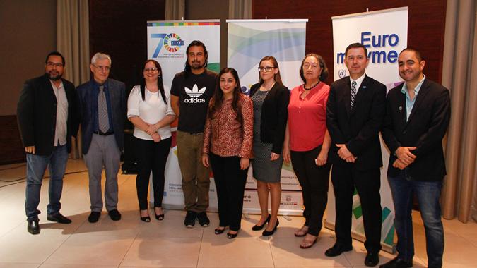 Foto grupal del lanzamiento regional del programa de asistencia técnica a la cadena naranja, realizado en Panamá