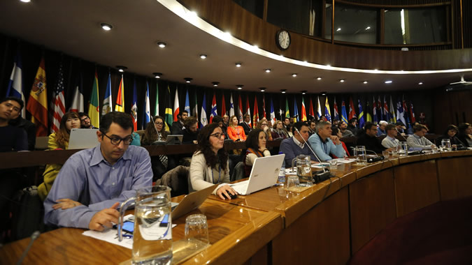 Participants in the 2014 Summer School of ECLAC.