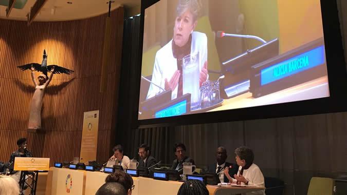 El evento de alto nivel se realizó en el marco del 72 período de sesiones de la Asamblea General de la ONU en Nueva York.