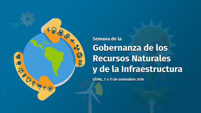 Logo semana Gobernanza Recursos Naturales e Infraestructura