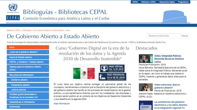 Biblioguía de Gobierno Abierto a Estado Abierto