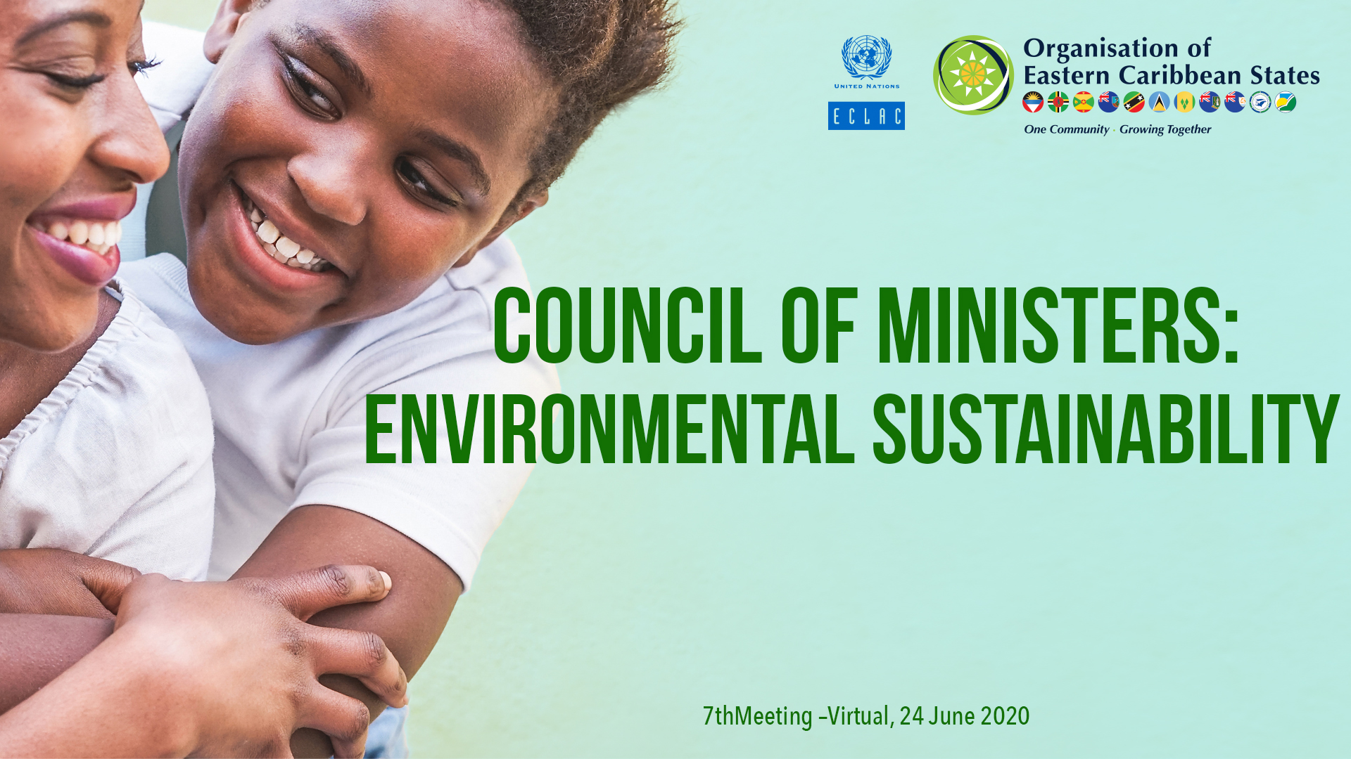Banner council of ministers OECS