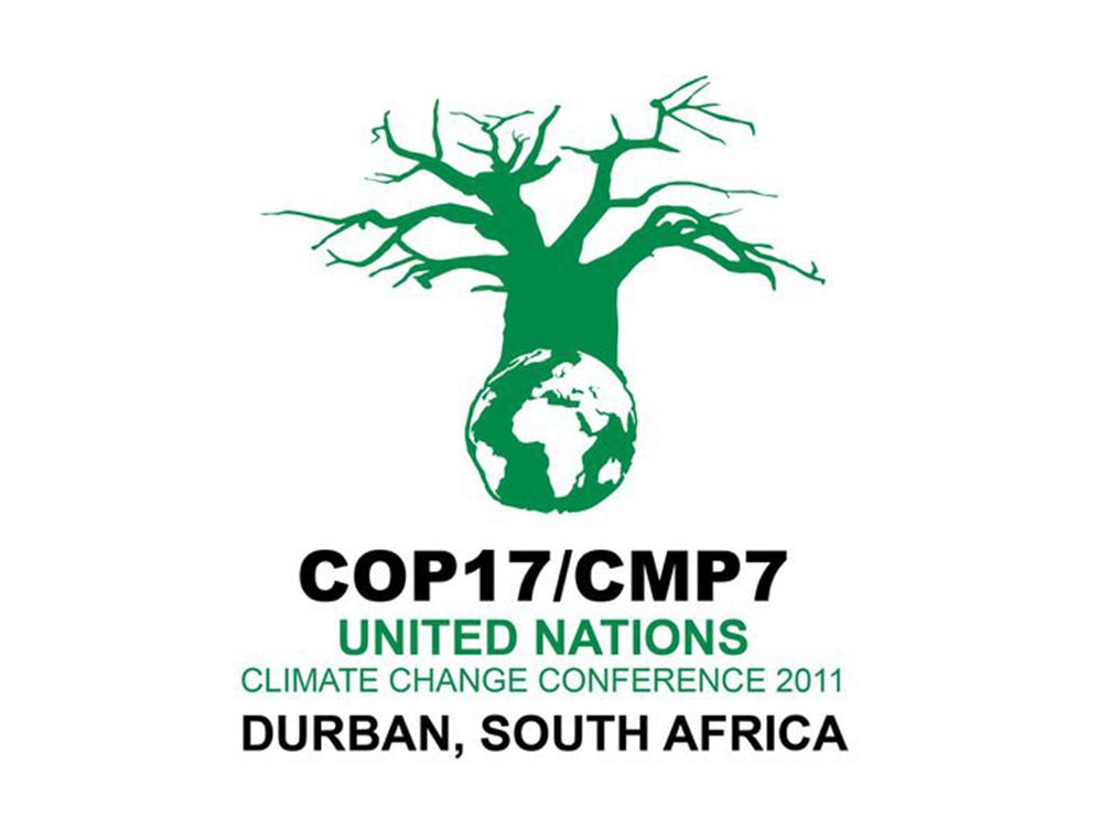 Concluye Conf. de Durban:194 Estados parte de la Convención Marco acordaron  el lanzamiento de un protocolo que se aplicaría a todos los miembros, un 2o  período de compromiso para el actual Protocolo