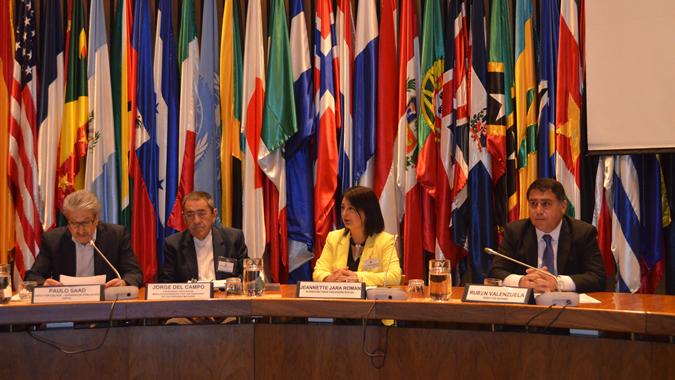 Imagen de la inauguración de la Quinta Asamblea Nacional por los Derechos de las Personas Mayores.