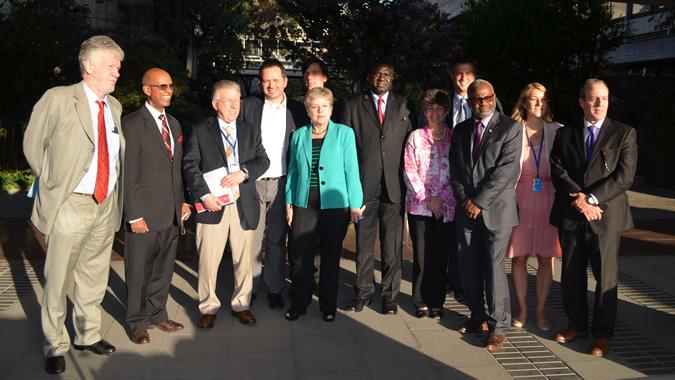 Delegación de la Comisión Consultiva en Asuntos Administrativos y de Presupuesto de la ONU a la CEPAL.