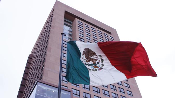 foto del edificio de la Secretaría de Relaciones Exteriores (SRE) de México.