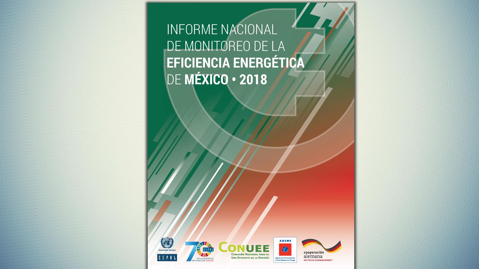 Portada informe nacional de eficiencia energética de México 2018