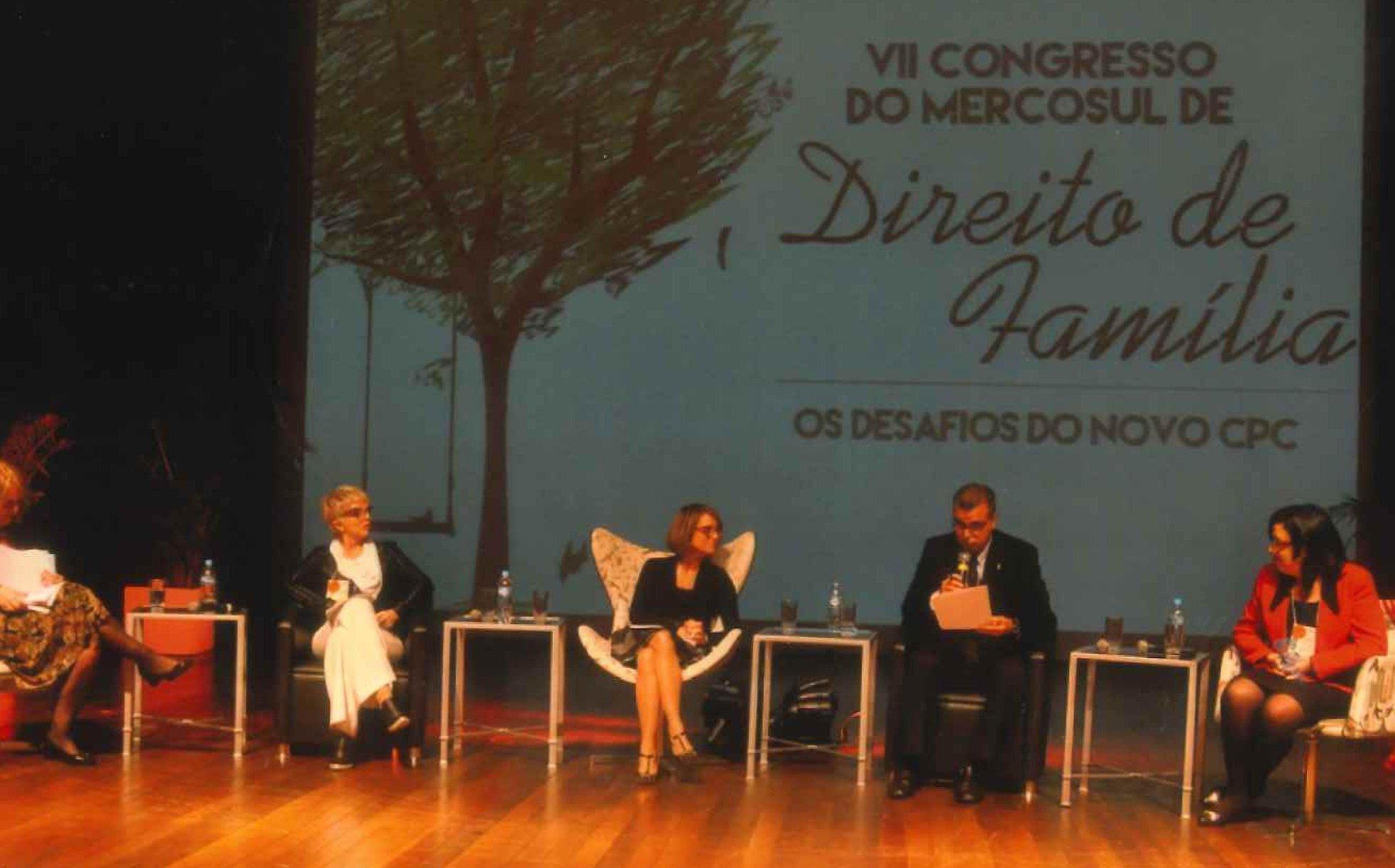 VII Congreso del MERCOSUR de Derecho de Familia, 11-12 de septiembre 2015, Porto Alegre, Brasil