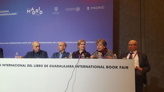 La Secretaria Ejecutiva de la CEPAL, Alicia Bárcena, durante la clausura del coloquio internacional.