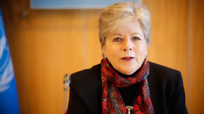 foto de Alicia Bárcena, Secretaria Ejecutiva de la CEPAL.