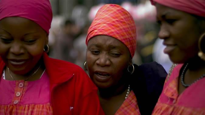 foto de mujeres afrodescendientes