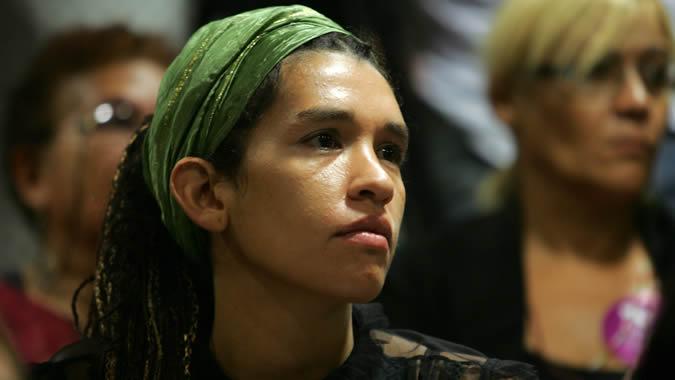 Foto de una mujer latinoamericana.