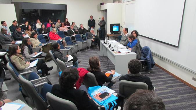 El curso se realiza en la sede de la CEPAL en Santiago, Chile.