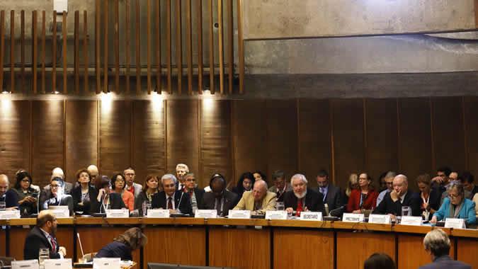 La mesa redonda tuvo lugar en la sede de la CEPAL en Santiago, Chile, en el marco del Foro de los Países de América Latina y el Caribe sobre el Desarrollo Sostenible 2019.