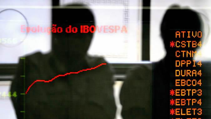 Foto bolsa de valores Brasil