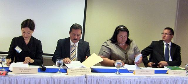 Taller nacional de Políticas nacionales integradas y sostenibles de logística, movilidad y eficiencia energética. Tegucigalpa, Honduras del 18 al 20 de Noviembre 2014.