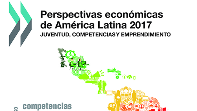 Portada de documento Perspectivas económicas de América Latina 2017.