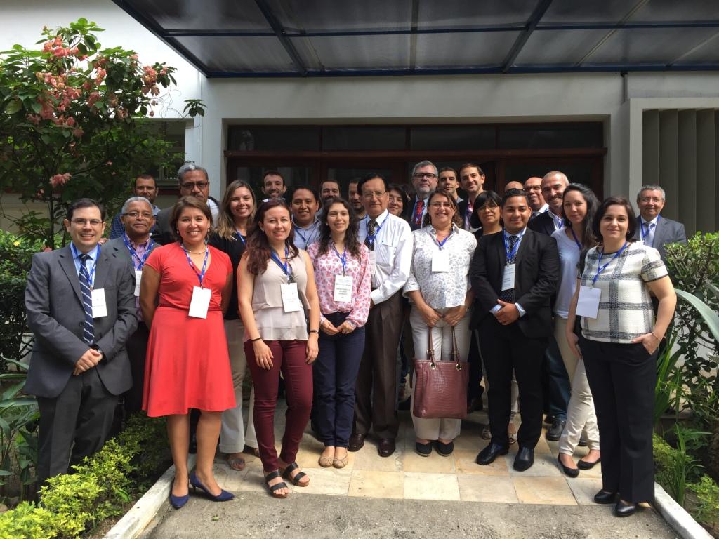 Participantes del II taller de indicadores verdes para empresas