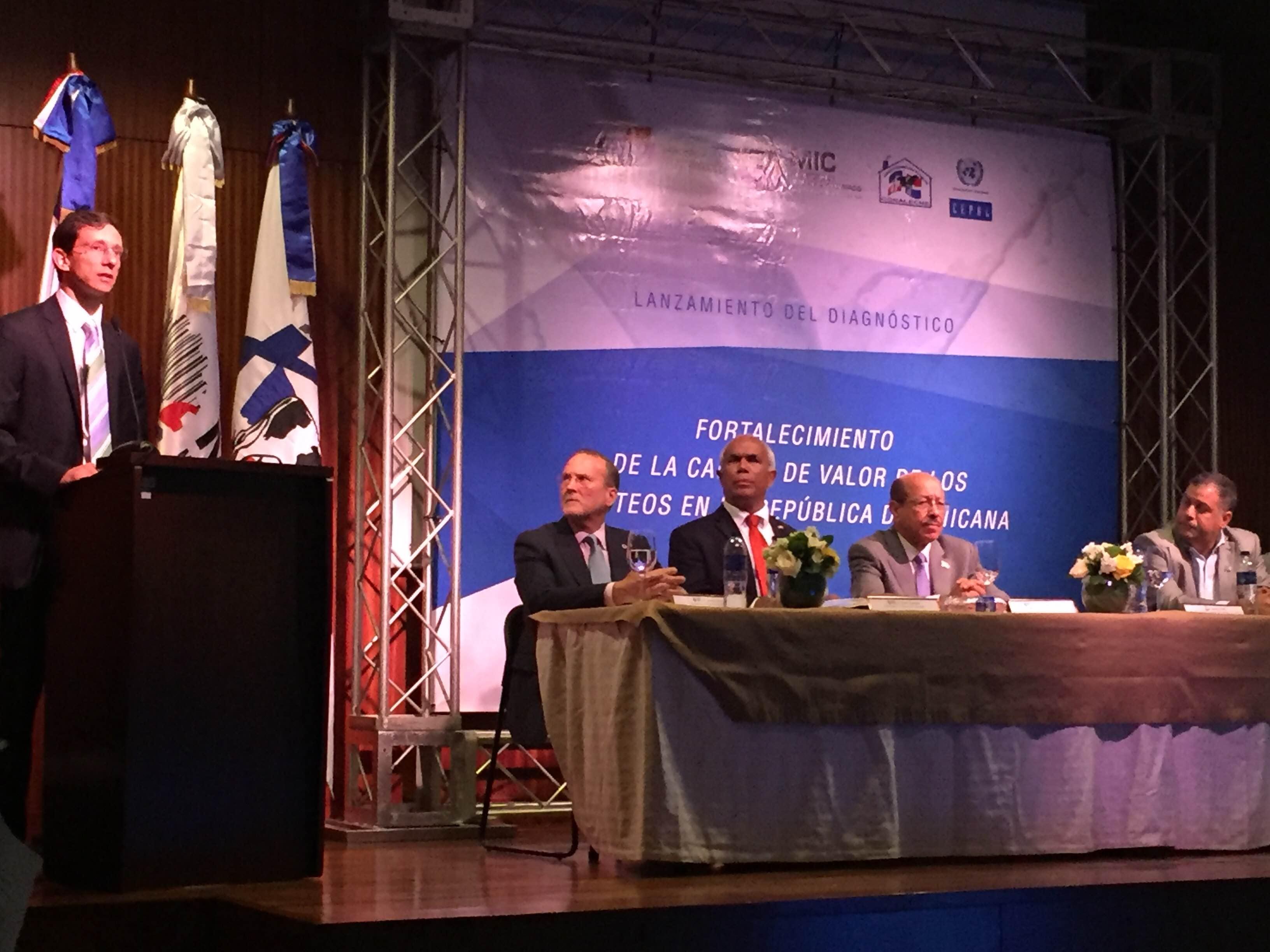 Lanzamiento de la Cadena de Valor de lácteos en República Dominicana