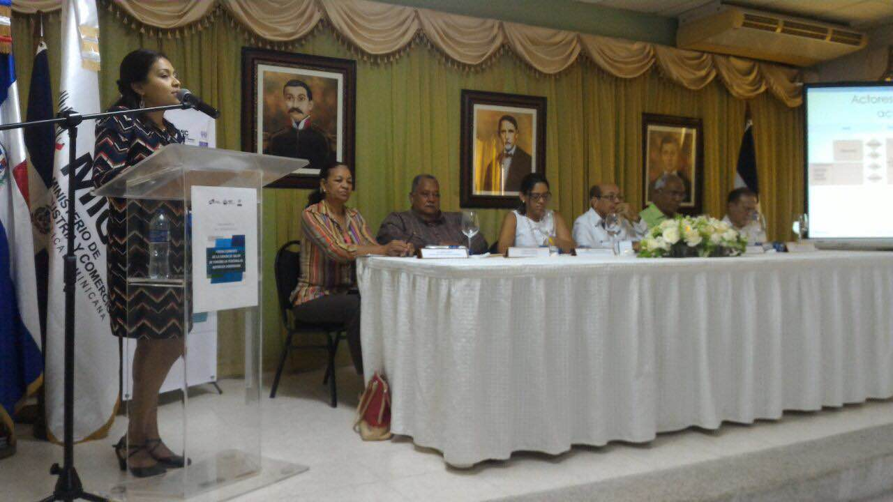 Lanzamiento de la Cadena de Valor de turismo en Pedernales, República Dominicana