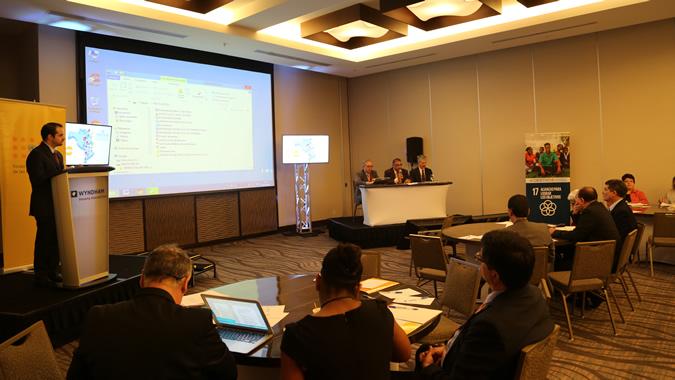 Imagen de la reunión sobre censos en Panamá.