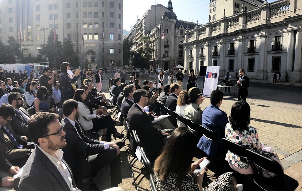 Lanzamiento del cuarto plan de acción de gobierno abierto de Chile