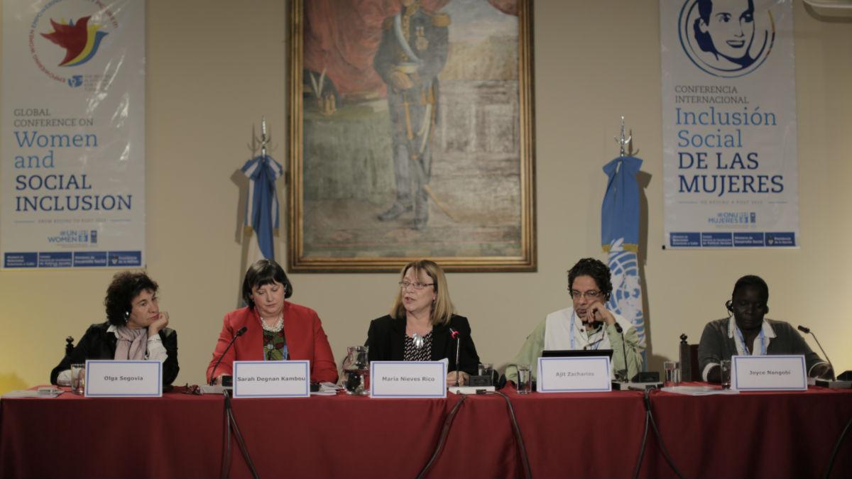 """Panel """"Erradicación de la pobreza e inclusión social en los entornos rural y urbano"""""""