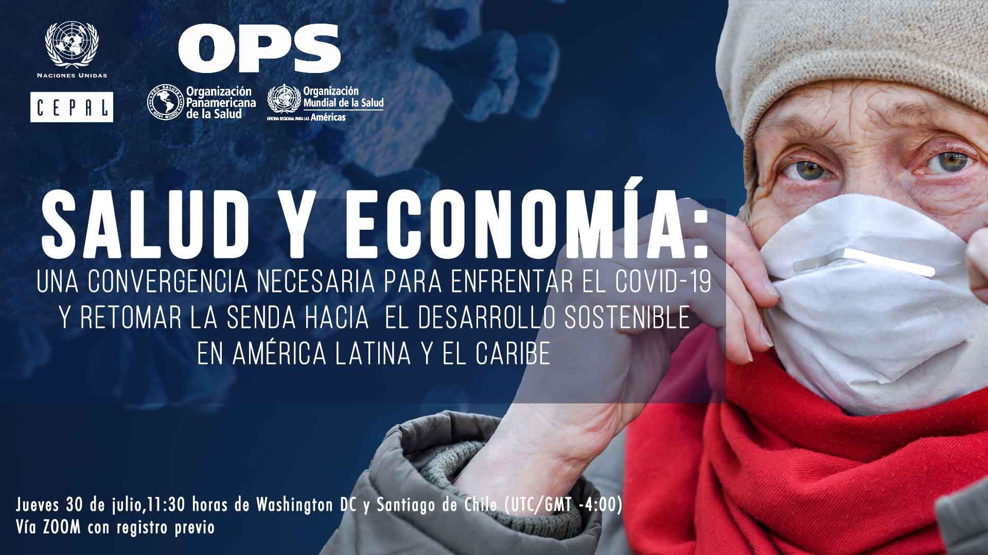 Banner informe CEPAL-OPS Salud y Economía