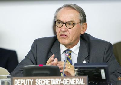 El vicesecretario general de la ONU, Jan Eliasson.