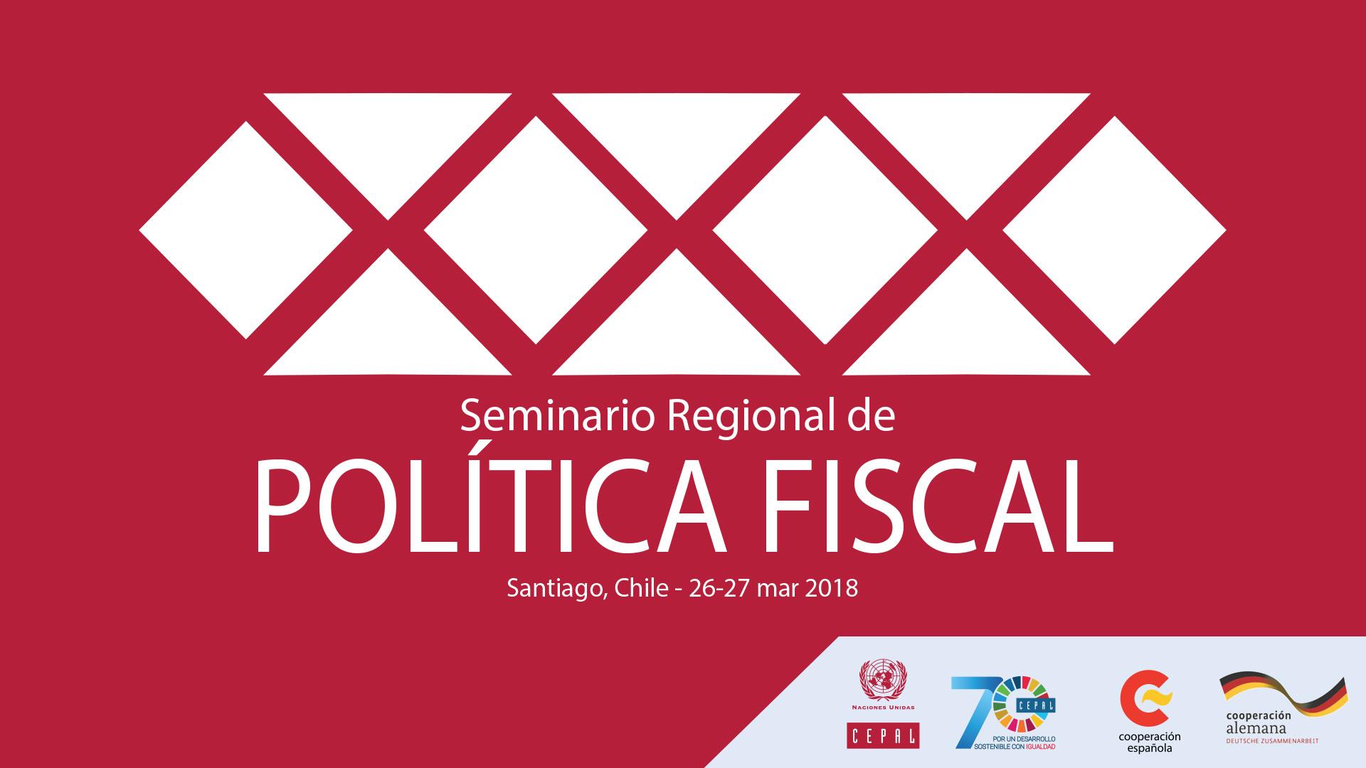 Banner Seminario Política Fiscal 2018